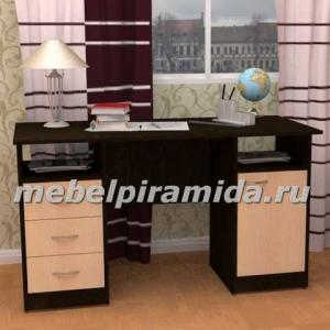 Фото Компьютерные столы Пирамида-Стол двухтумбовый Фронда-4