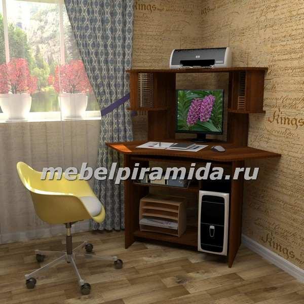 Фото Компьютерные столы Пирамида-Стол компьютерный угловой СК-12