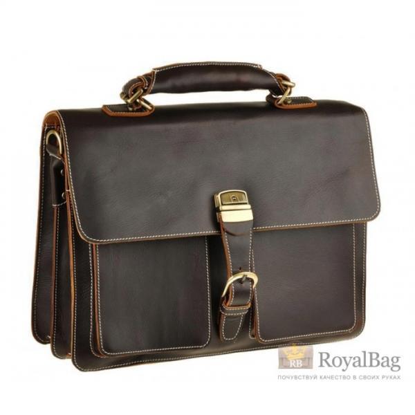 Мужской кожаный портфель BEXHILL BX1031