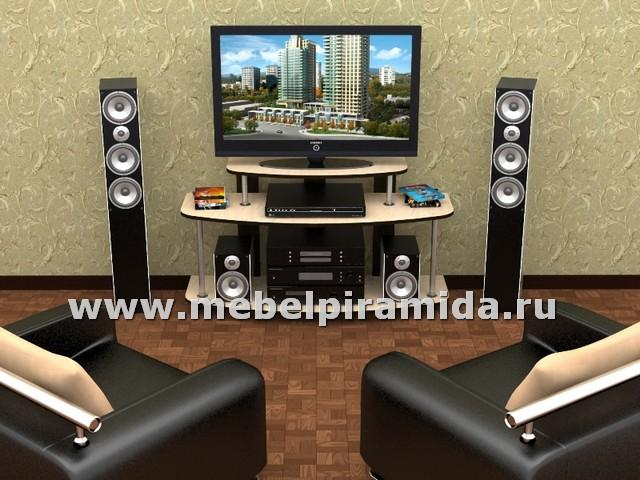 Тумба для телевизора ТВ-3(Пирамида)