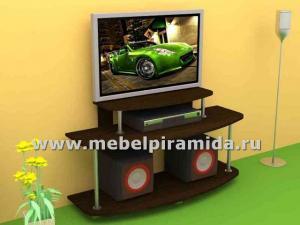 Фото ТВ-тумбы Тумба для телевизора ТВ-3(Пирамида)