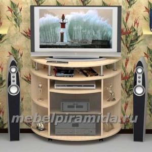 Фото ТВ-тумбы Тумба для телеаппаратуры ТВ-7(Пирамида)