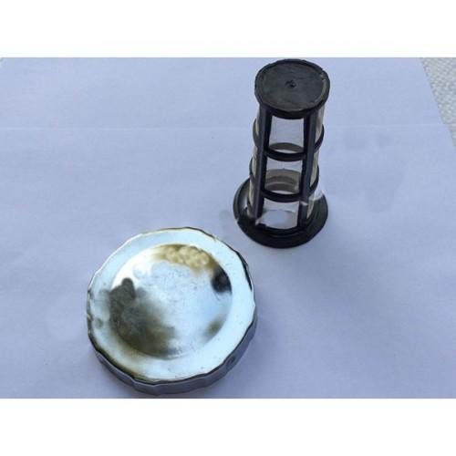 Крышка бака и сетка (R190)