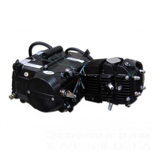 Двигатель на мопед 110 кубов (полуавтомат) - Мотоциклы, мотороллеры, скутеры, мопеды на рынке Барабашова