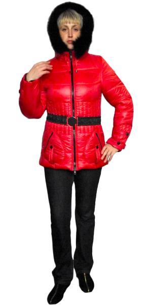 Курточка женская с мехом продано   Артикул: М-33