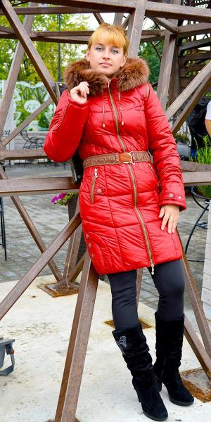 Куртка зимняя с опушкой продано   Артикул: М-37