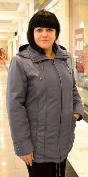 Женская курточка из плащевки продано   Артикул: 14-18