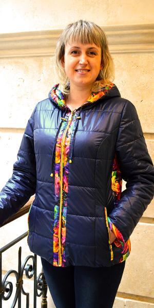Модная яркая весенняя куртка продано   Артикул: 14-34