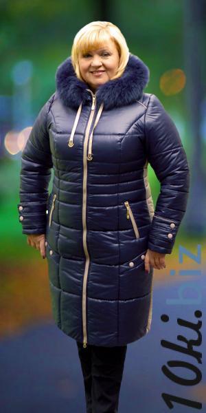 Женское пальто-пуховик с капюшоном продано   Артикул: M14-40 Пуховики женские в ТЦ «Шок» (Харьков)