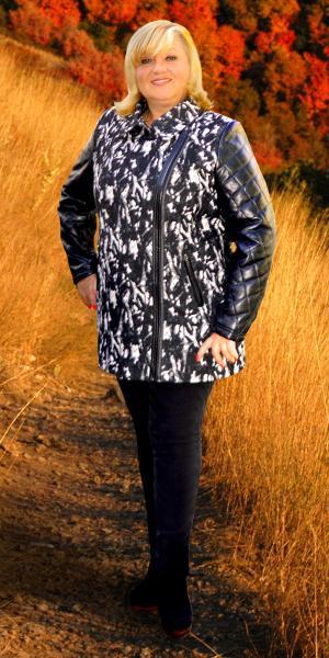 Осеннее женское пальто   Артикул: М15-18