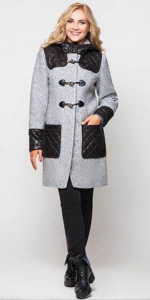 """""""Анастасия"""" женское пальто с капюшоном"""
