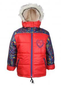 Фото Зимняя одежда для детей, Куртки для мальчиков КУРТКА