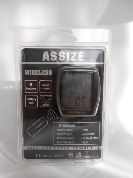 Велокомпьютер ASSIZE AS-4000 беспроводной