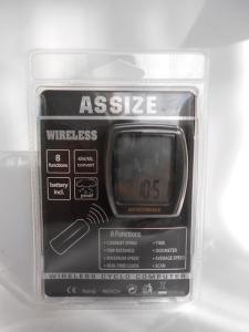 Фото Электроника  Велокомпьютер ASSIZE AS-4000 беспроводной