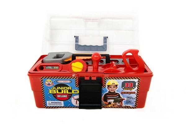 Набор инструментов 2059 (18шт) пила, дрель, ключи, в чемоданчике 31*16*13см   Артикул: 01002059