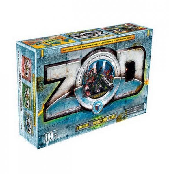 Опасный рейд  Z.O.D №3 игровая среда, Технолог   Артикул: 01003305