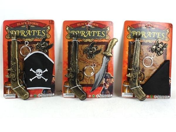 Пиратский набор JAMBO (арт. U33-A29) 3 вида,блистер,19x29x4cm   Артикул: 01003329