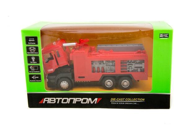 """Машина металл 5001 (72шт/2)""""АВТОПРОМ"""",батар.,свет,звук,откр.двери,в кор. 22*12,5*9см   Артикул: 01005001"""