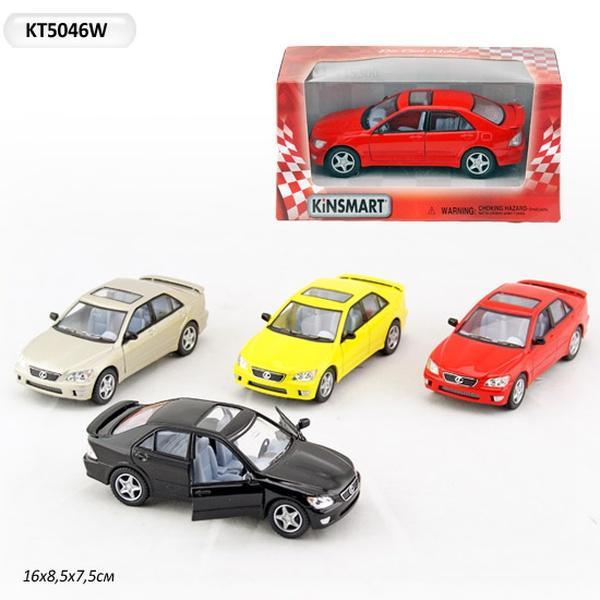 """Машина металл """"KINSMART"""" KT5046W (96шт/4) """"Lexus IS300"""", в коробке 16*8*7,5см   Артикул: 01005046"""