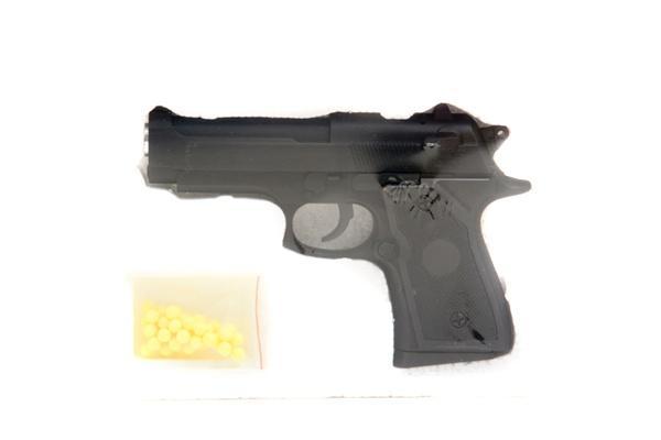 Пистолет CYMA ZM21 с пульками,метал.кор.16*3*11 ш.к.H120309506 /36/   Артикул: 01005215