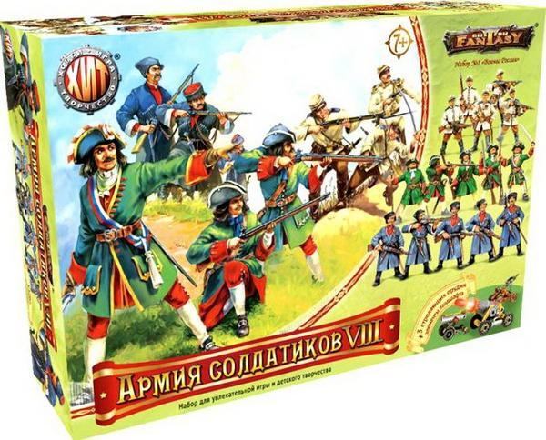Армия солдатиков №8 Битвы Fantasy игровая среда, Технолог   Артикул: 01006207