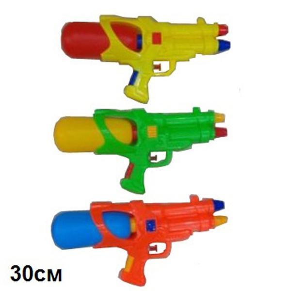 Водяное оружие 30см M23 3цв.кул.ш.к./120/   Артикул: 01020023