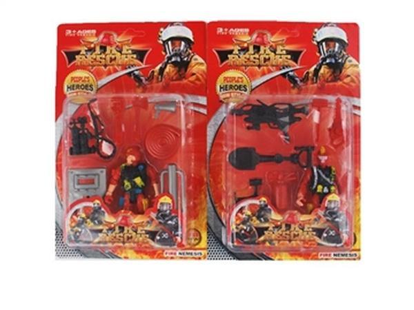Пожарники JAMBO (арт. 9050-1) ,2 вида,пластик,блистер   Артикул: 01090501