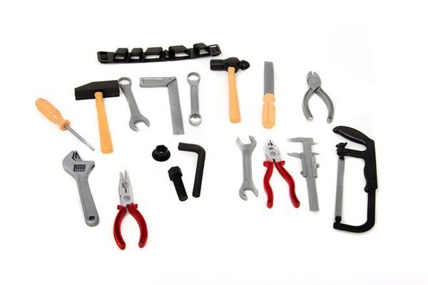 Набор инструментов 8968D (144шт/2) пояс, пила, молоток, плоскогубцы, в пакете 19см   Артикул: 01108968