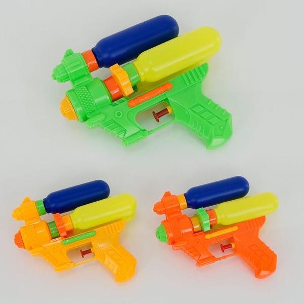 Водный пистолет М 34 С (360/2) 3 цвета, в кульке   Артикул: 01249254
