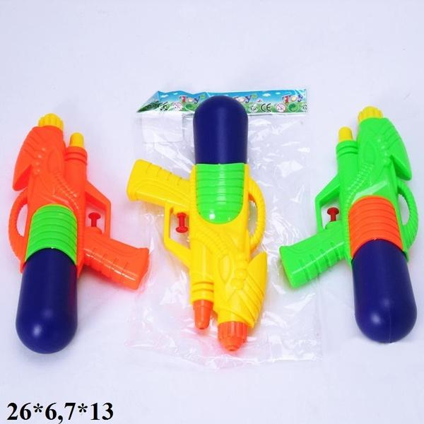 Водяной пистолет 26см M777 3цв.кул.26*6,7*13 ш.к./240/   Артикул: 01400777