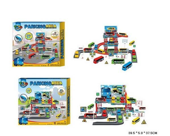 Паркинг 660-206/7 (36шт/2) 2 вида, в коробке 39,5*5*37,5см   Артикул: 01660206
