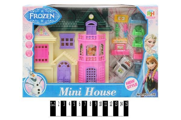 Будинок  для ляльок FROZEN  901-76 р.27х18х4,5 см.   Артикул: 02000176