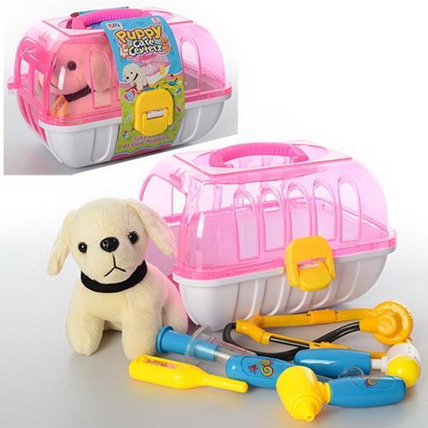 Лікар 251 собачка, чемодан, 6 предметів, кул., 26-18-20 см   Артикул: 02000251