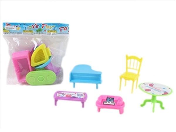Мебель JAMBO (арт. H604),2 вида,пластик,пакет,10x10x3.2cm   Артикул: 02000604
