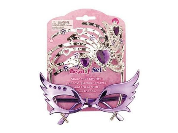 Аксессуары для девочек BE811 (72шт/2) очки,бижутерия с бриллиантами, на планшетке 12*16*3см   Артикул: 02000811