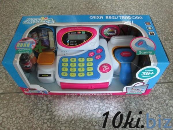 Кассовый аппарат 2012 (12шт/2) батар., с продуктами, в коробке   Артикул: 02002012 Наборы маленьких продавцов в Украине