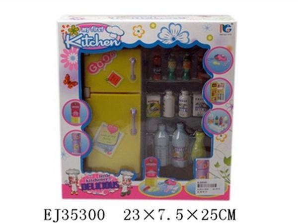 Мебель для кухни 3296A, Холодильник, с аксесс., в кор. 23x7,5x25 см JAMBO (100514248)   Артикул: 02003296