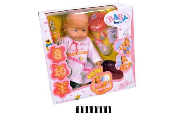 """Пупс  """"Baby born"""" 80058-l (розбірна коробка) р.37,5х18,6х36см.   Артикул: 02004963"""