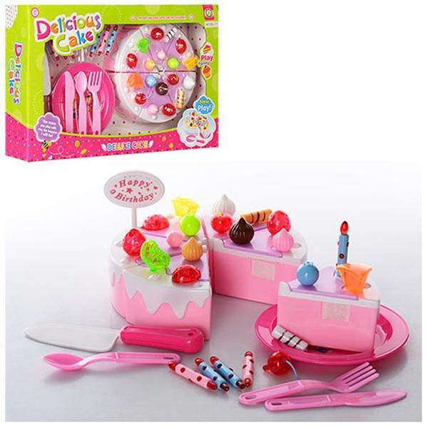 Посуда NF288-17 (36шт) тарелка, столовые приборы, сладости(торт, леденцы), в кор-ке, 39-24-7см   Артикул: 02008817