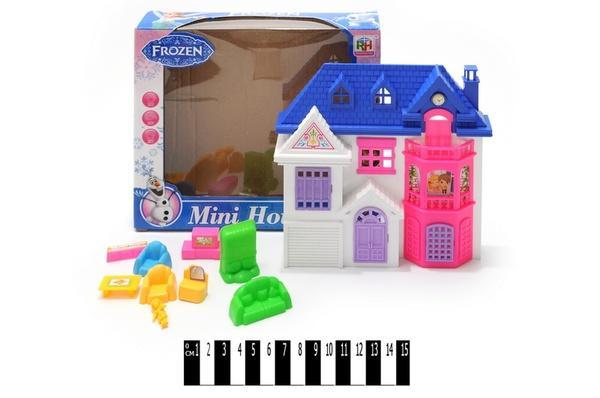Будинок для ляльок FROZEN  901-77 р.21х18х4,5 см.   Артикул: 02009017
