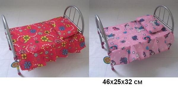 Кроватка MELOGO 9342 (HT) для кукол 46*25*32 ш.к./12/   Артикул: 02009342
