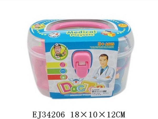Доктор 137-27, набор 17 предм., в чемодане 18x10x12 см JAMBO (100503513)   Артикул: 02013727