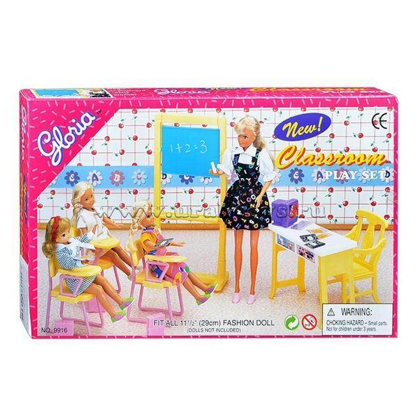 """Мебель """"Gloria"""" 9916 (48шт/2) школа, в кор.27*17см   Артикул: 02029916"""