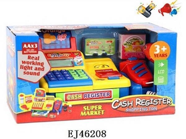Кассовый аппарат (арт. FS-34451), в короб.батарейки,свет,звук, 33x17x17см, EJ46208, Jambo (100043317)   Артикул: 02034451