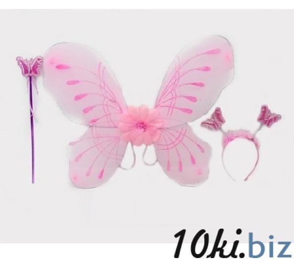 Крылья 788-54 (240шт/2) обруч,палочка, в пак.   Артикул: 02078854 Наборы для девочек в Украине