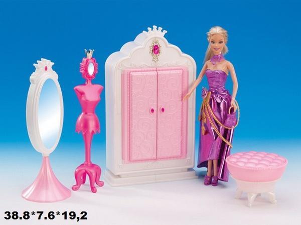Мебель Gloria 1209 гардероб кор.38,8*7,6*19,2 ш.к./24/   Артикул: 02101209