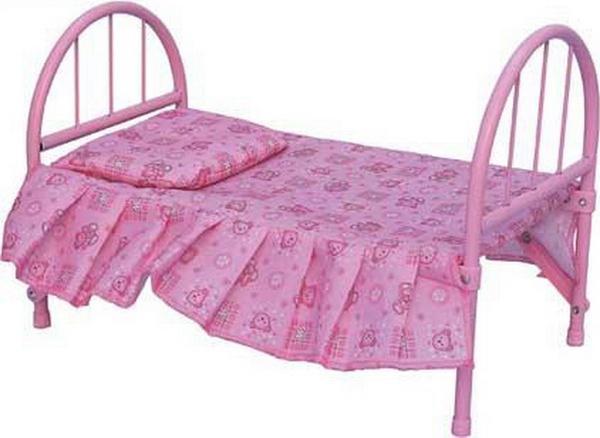 Кроватка MELOGO 9342 (HT) для кукол 46*25*32 ш.к./12/(9342)   Артикул: 02109342