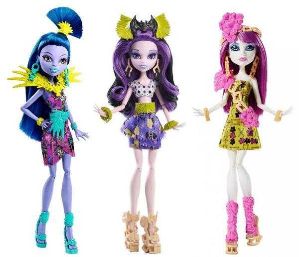 "Лялька ""Монстри на відпочинку"" в ас.(2) Monster High   Артикул: 02251456"