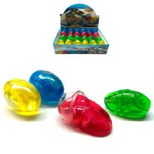Желе яйцо с динозавром 24 шт PR271   Артикул: 03000271