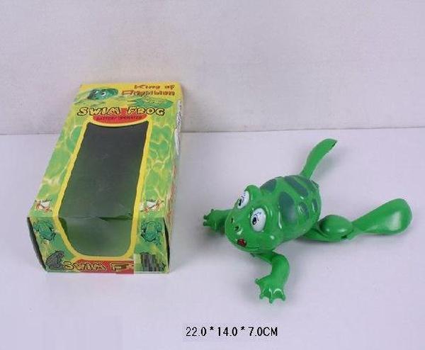 Заводная игрушка 484 (120шт/2)Лягушка, в кор. 22*14*7см   Артикул: 03000484
